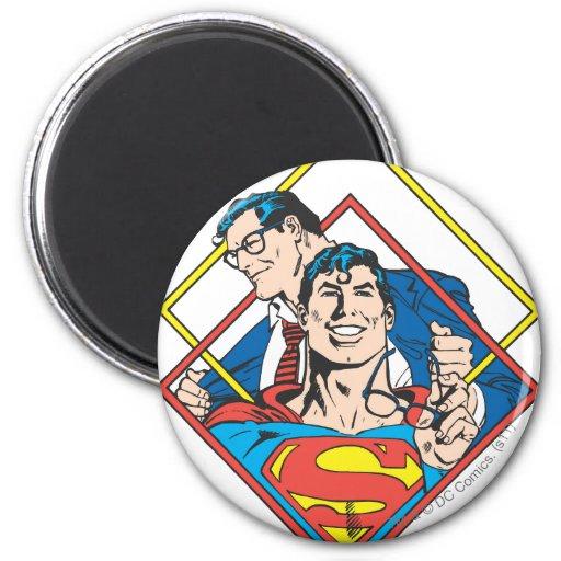 Superman/Clark Kent Koelkast Magneetje