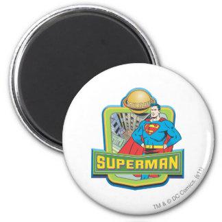 Superman - Dagelijkse Planeet Ronde Magneet 5,7 Cm