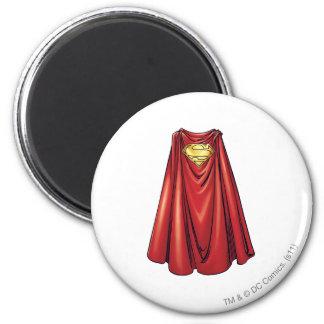 Superman - de Kaap Ronde Magneet 5,7 Cm