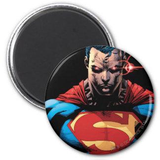 Superman - de Visie van de Laser Ronde Magneet 5,7 Cm