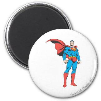 Superman die 3 stellen ronde magneet 5,7 cm