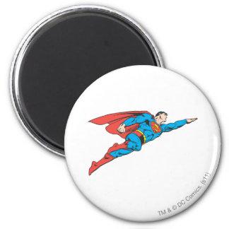 Superman die net vliegen ronde magneet 5,7 cm