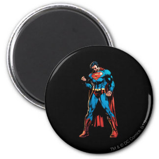 Superman - dien vuist in ronde magneet 5,7 cm