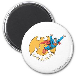 Superman & Eagle Koelkast Magneetje