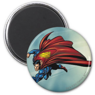 Superman flys met kaap magneten