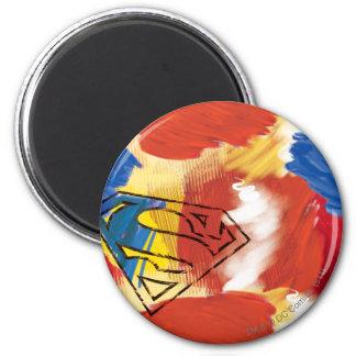 Superman Geschilderd Logo Magneten