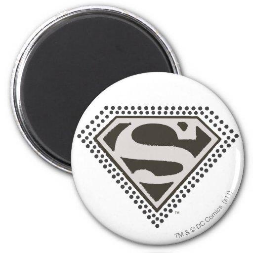 Superman - het is Showtime! Logo Koelkast Magneten