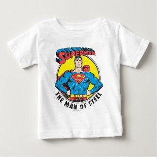 Superman het Man van Staal Baby T Shirts