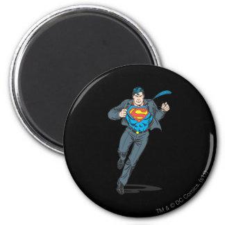 Superman in BedrijfsGewaad Magneet