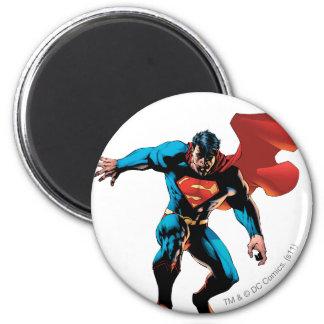 Superman in Schaduw Koelkast Magneet
