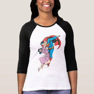Superman & Lois in Roze T Shirt