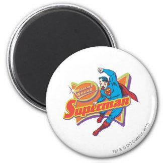 Superman - Man van Staal Ronde Magneet 5,7 Cm