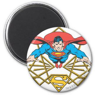 Superman met Logo Koelkast Magneetje