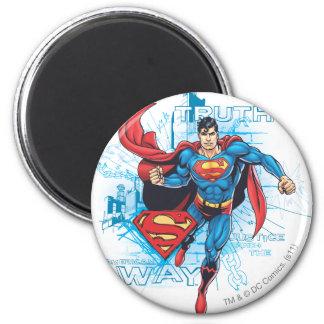 Superman met Logo Koelkast Magneten
