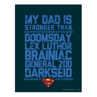 Superman - Mijn Papa is Sterker dan… Briefkaart