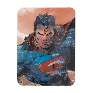 Superman - Rood Rechthoek Magneet