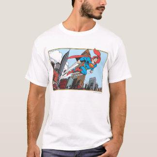 Superman & Wolkenkrabbers T Shirt