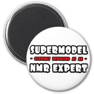 Supermodel. NMR Deskundige Koelkast Magneetjes