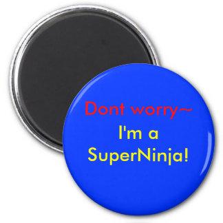 SuperNinja! Koelkast Magneetjes