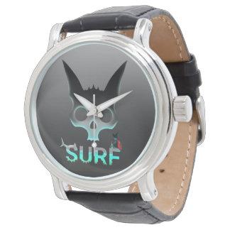 Surf Stedelijke Koele Kat Graffiti Horloges