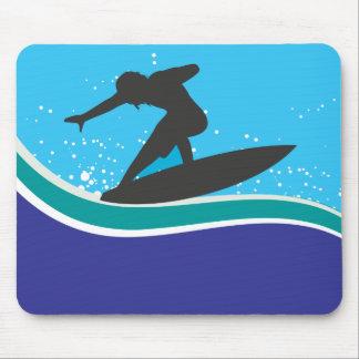 Surfer Mousepad Muismatten