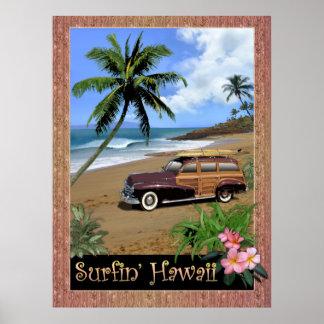 Surfin Hawaï Poster