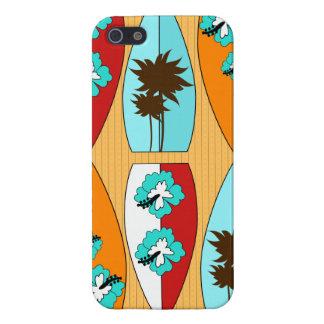 Surfplanken op het Thema van het Strand van de iPhone 5 Hoesjes