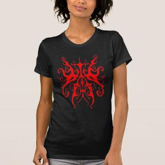 Surreal StammenTattoo van de Vlinder - rood T Shirt