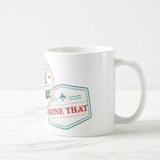 Surrey daar gedaan dat koffiemok