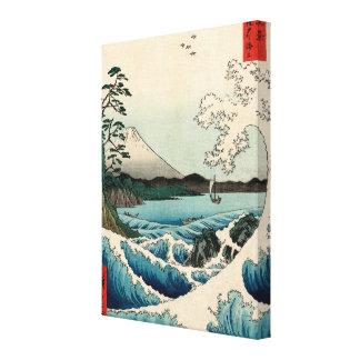 Suruga Satta geen Kaijō Canvas Print