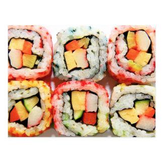 Sushi Briefkaart