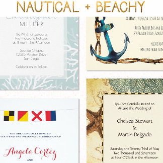 Nautical + Beachy
