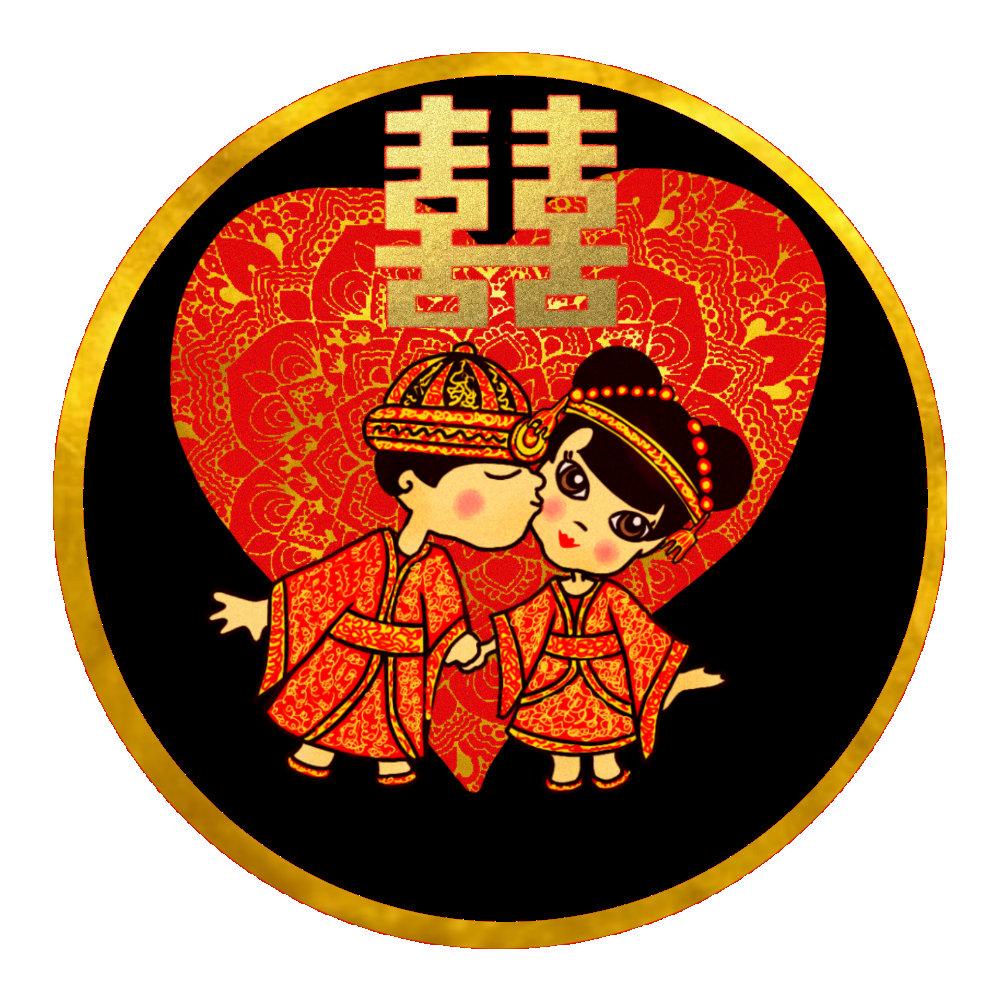 Chinese Wedding - Cute couple