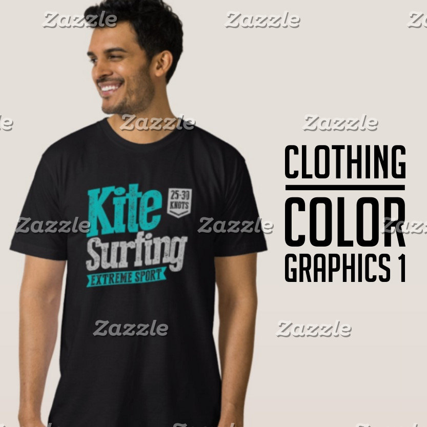 Color Graphic Dark Clothing