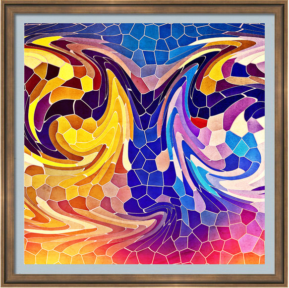 Digital Stained Glass