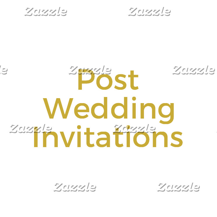 Post Wedding Invitations
