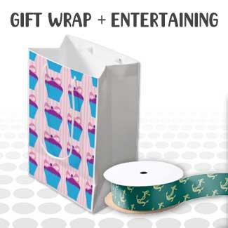 Gift Wrap + Entertaining