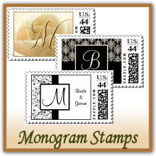 Monogram Wedding Stamps