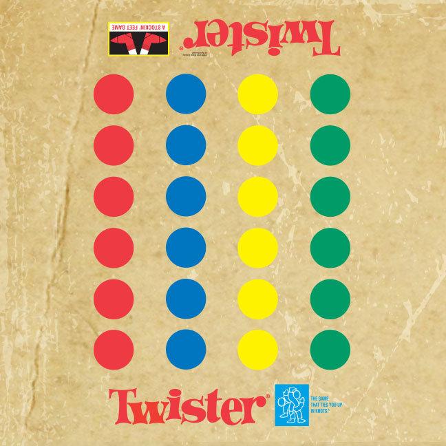 Twister Game Mat