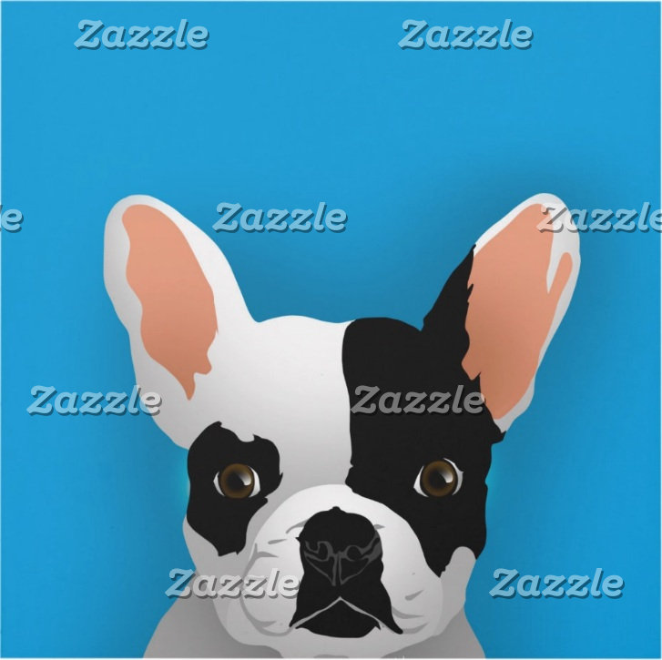 Bulldog art - french bulldog