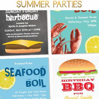 Summer Parties