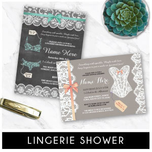 Lingerie Party Invites