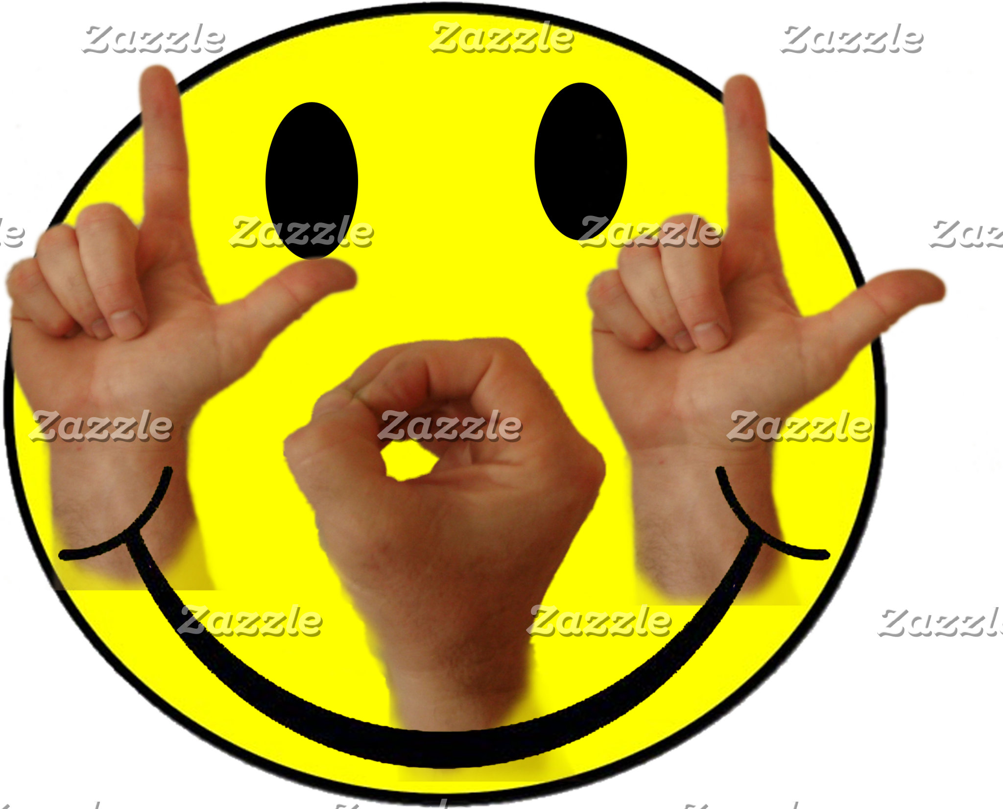 LOL ASL SMILEY FACE