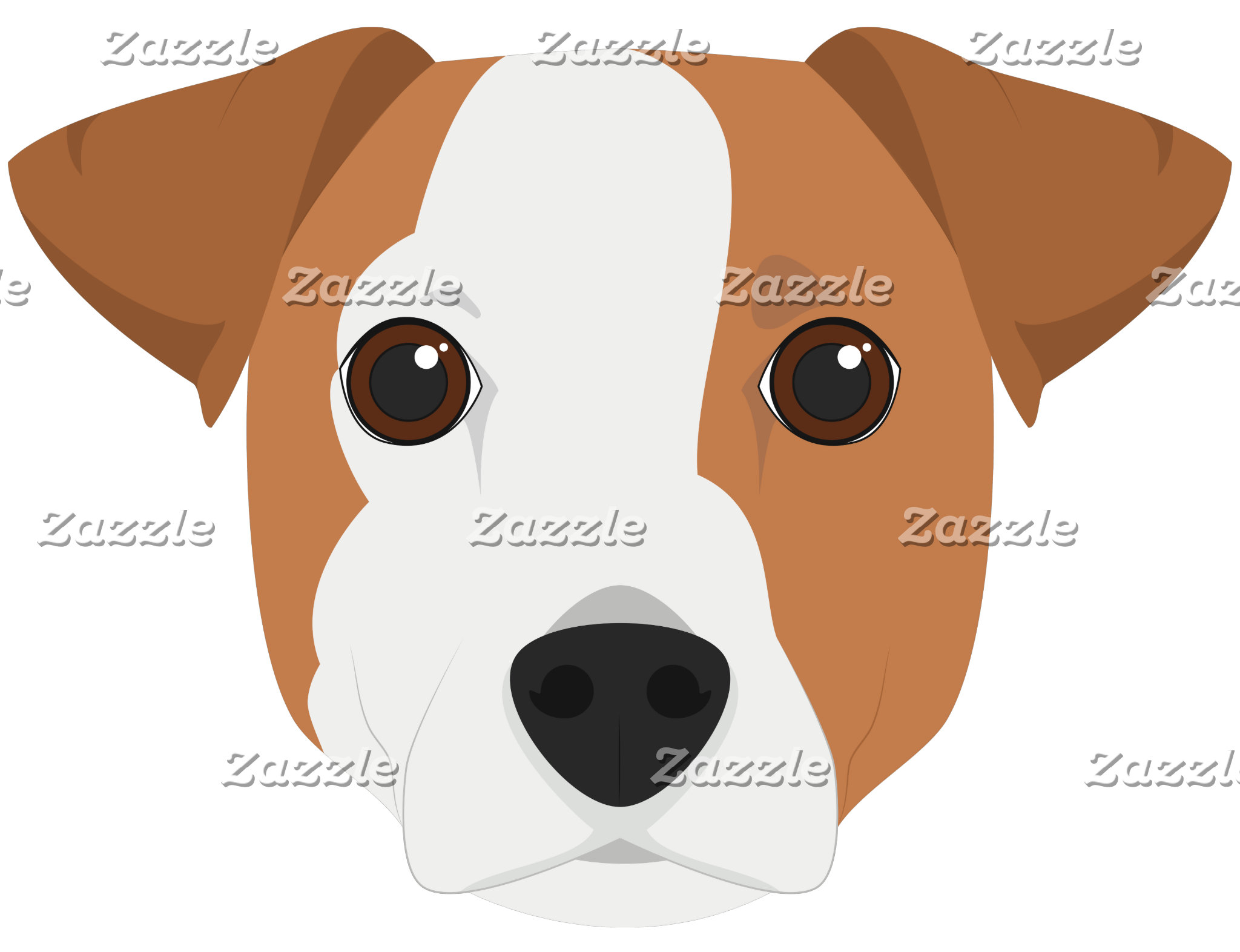 Jack Russell Dog Portrait