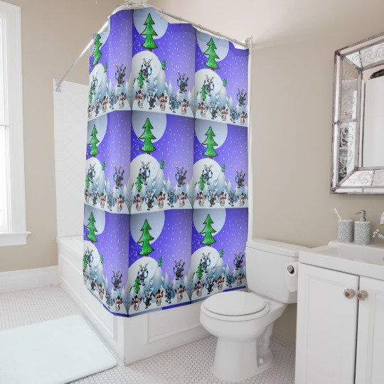 Designer Shower Curtains