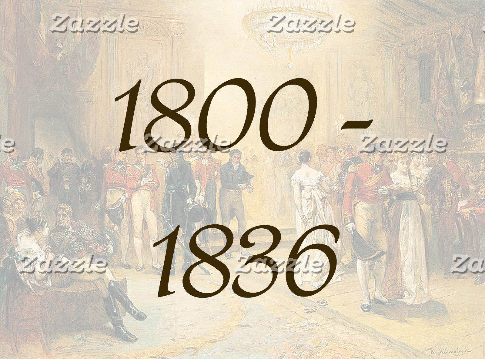 1800 - 1836
