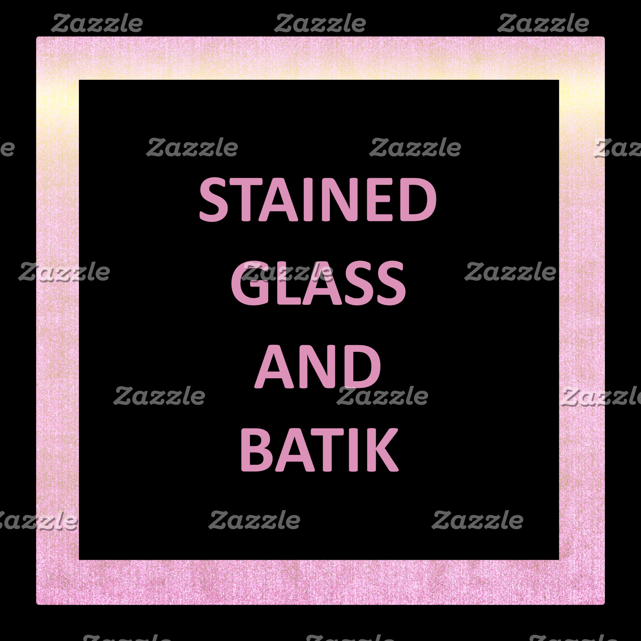 Stain Glass and Batik
