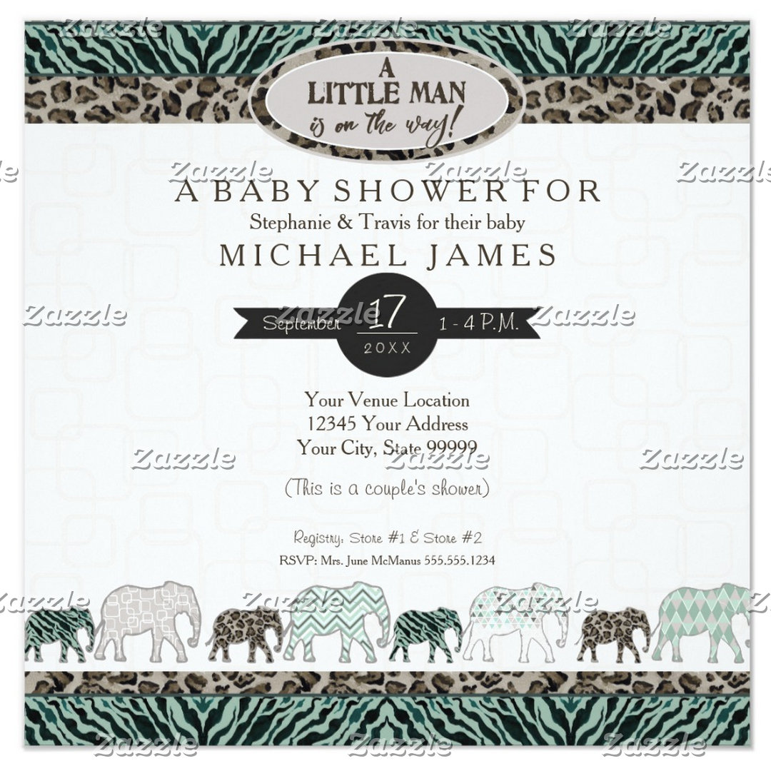 Baby Boy | Safari Elephants