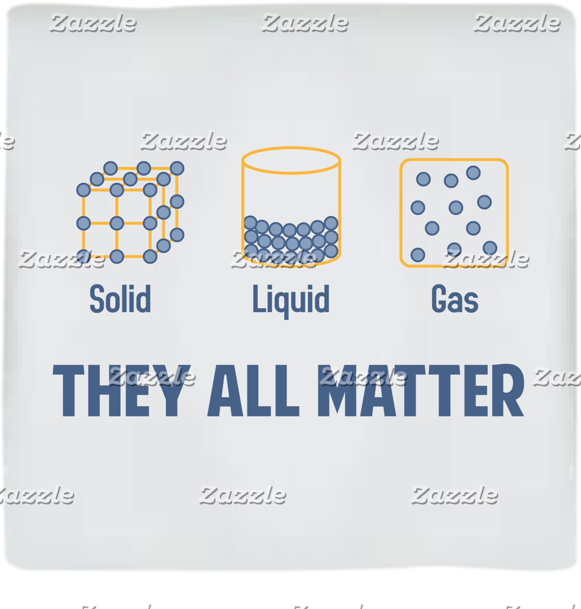 Liquid, Solid, Gas, They All Matter