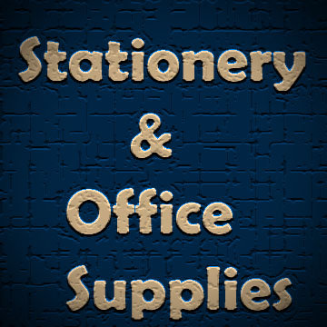 Stationary and Office Supplies